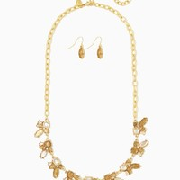 Glitter and Gloss Necklace Set | Fashion Jewelry | charming charlie