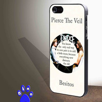 Pierce The Veil Song Lyrics Band for iphone 4/4s/5/5s/5c/6/6+, Samsung S3/S4/S5/S6, iPad 2/3/4/Air/Mini, iPod 4/5, Samsung Note 3/4 Case **
