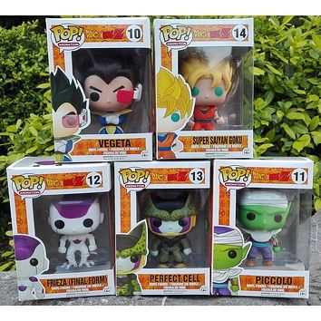 Anime Son Goku Piccolo Frieza Shahrukh Vegeta Vinyl PVC Collection Action Figure