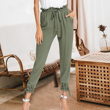 Ankle Tie Trousers