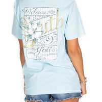 Lauren James Welcome to the South Light Blue