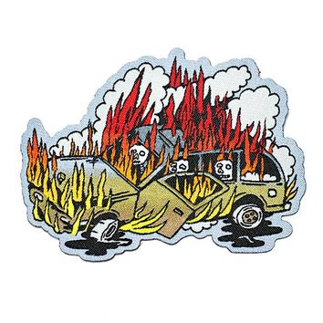 SUV On Fire Patch