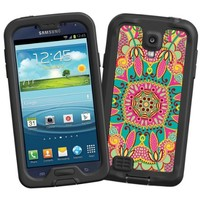 """Brilliant Tribal """"Protective Decal Skin"""" for LifeProof fre/nuud Samsung Galaxy S4 Case"""