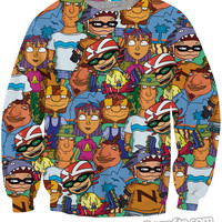 Rocket Power Crewneck Sweatshirt *Ready to Ship*