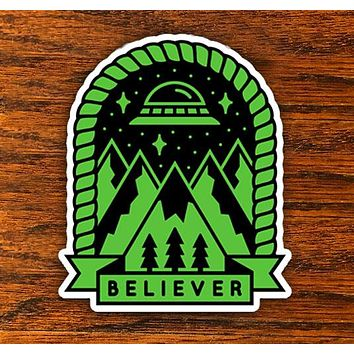 Believer - All weather vinyl sticker
