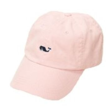 Vineyard Vines Whale Logo Baseball Hat - Flamingo Pink