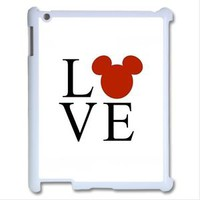 Disney Inspired Mickey Mouse LOVE Apple iPad 2 3 Air Mini Case Cover