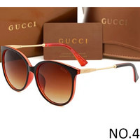 GUCCI 2018 Men's and Women's High Quality Trendy Sunglasses F-ANMYJ-BCYJ NO.4