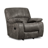 Ulysses Charcoal Rocking Recliner by Corinthian Furniture