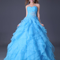WowDresses — Amazing Stunning Ball Gown Sweetheart Neckline Sweep Train Prom Dress