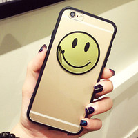 smiling face case cover for iPhone 5s 6 6s plus gift 258