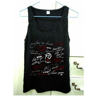 fall in love the weeknd design for Tank Top Mens and Tank Top Girls