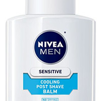 NIVEA MEN Sensitive Cooling Post Shave Balm, 3.3 oz Bottle (Pack of 3)