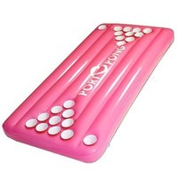NEW PortOPong Inflatable Floating Pool Beer Pong Table - Pink  on eBay!