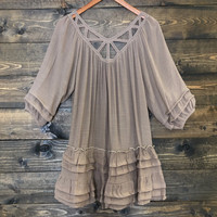 Midtown Gauze Festival Boho Dress