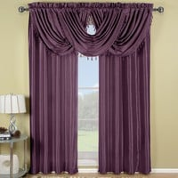 Purple Soho Waterfall Window Treatment