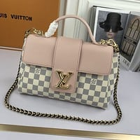 LV Louis Vuitton Tote Bags Women's Leather Satchel Crossbody Shoulder Bag