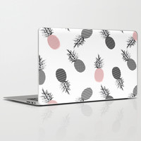 Falling Pineapple Laptop & iPad Skin by Cafelab