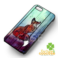 Little Fox - zzzzzz for  iPhone 6S case, iPhone 5s case, iPhone 6 case, iPhone 4S, Samsung S6 Edge