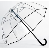 Elite Rain Umbrella Premium Fiberglass Bubble Umbrella -