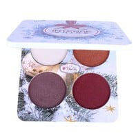Christmas Makeup Matte Eye Shadow Palette Nude Minerals Powder Pigments Shimmer Eyeshadow Make Up Palette 4 Colors