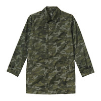 Joe Fresh Men's Camo Pack Away Coat