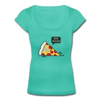 Funny Cartoon Pizza - Statement / Funny / Quote T-Shirt