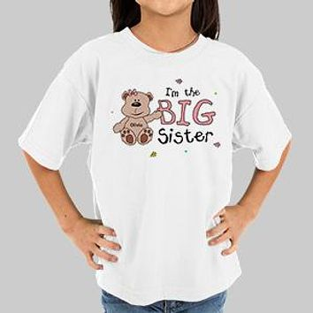 Big Sister T-shirt Youth