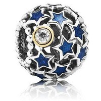 Authentic Pandora Jewelry - Night Sky Blue Enamel