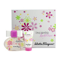 Incanto Lovely Flower Coffret: Eau De Toilette Spray 50ml/1.7oz + Body Lotion 30ml/1oz 2pcs