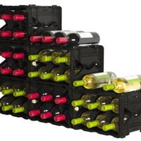 Storvino Nero 6 Bottle Wine Storage Container