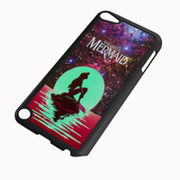 In The Moon light Nebula Space Ariel The Little Mermaid IPod 4|5 Cases