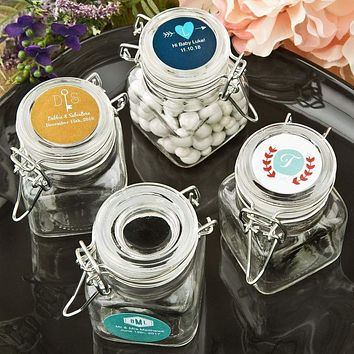 Personalized Classic Apothecary Glass Jar - Expressions