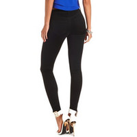 "Refuge ""Skin Tight Legging"" Black Skinny Jeans - Black"
