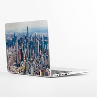 New York City from Above Laptop Skin