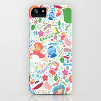 Ponyo Pattern - Studio Ghibli iPhone & iPod Case by Teacuppiranha | Society6