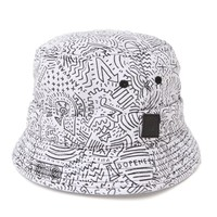 Vanguard Dopeness Bucket Hat - Mens Backpack - White - One