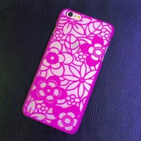 Vintage Rose Lace Floral Case Cover for iphone 5s 6 6s Plus Gift 226