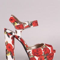 Rose Bouquet Platform