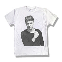One Direction Liam Payne Black & White 006 Tshirt x Tee x Shirt x Top - All Sizes Available
