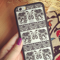 New Cute Elephant iPhone 7 se 5s 6 6s Plus Case Cover+Nice Gift Box+Elephant Ring