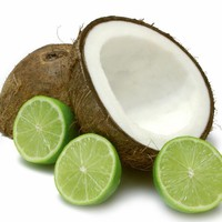 Cool Coconut-Lime Natural Hand Poured Soy Candles