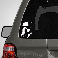 Car Decal - Star Wars inspired Stormtrooper V. 2 car decal