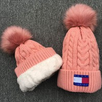 Tommy Hilfiger Knit And Pom Hat Cap-5