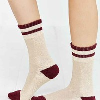 Striped Slouchy Crew Sock