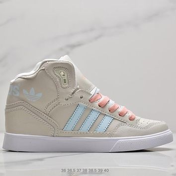 Adidas Extaball W Women's High-Top Wild Wear Sneakers Sneakers Shoes