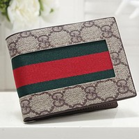 GG classic embossed letters stitching color clamshell wallet key case Bag #2