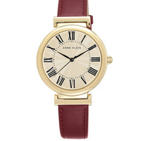 Brands | Women's Watches | Ladies Goldtone Leather Watch | Lord and Taylor