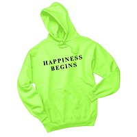 "Jonas Brothers ""Happiness Begins"" (Sizes 2XL - 5XL) Hoodie Sweatshirt"