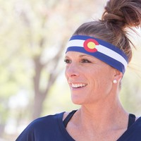 Colorado Flag Headband - Large Only